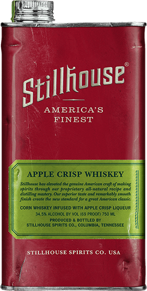 Stillhouse Apple Crisp Whiskey Can