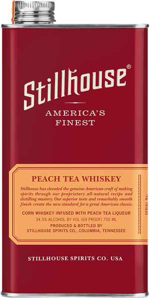 Stillhouse Peach Tea Whiskey Can